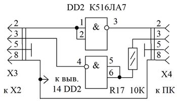 Простой преобразователь ТТЛ – RS-232