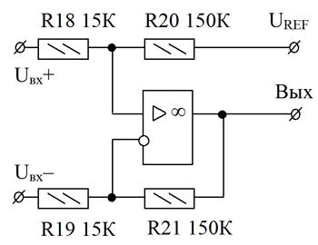 Функциональная замена DA3 AD623