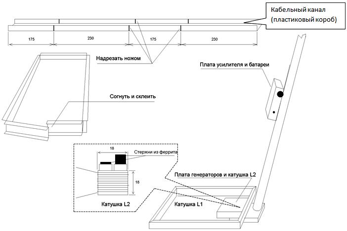 Схема распайки соединительного