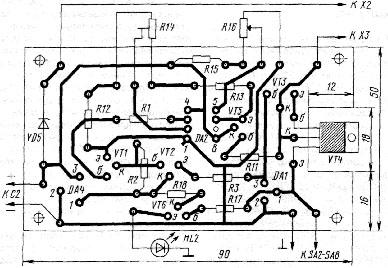 Схема контроллера джойстика usb ps.