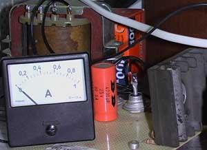 Зарядное устройство для аккумулятора скутера.