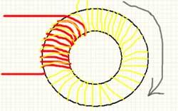 Намотка повышающего трансформатора на ферритовом кольце