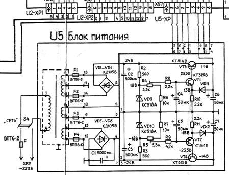 БП Радиотехника МП-7301 стерео