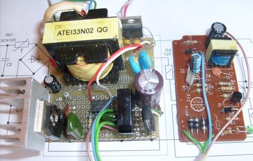 схема зарядного устройства для шуруповерта einhell - Практическая схемотехника.