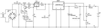 Схема импульсного зарядного устройства для литиевых аккумуляторов