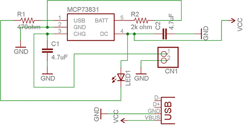 Схема зарядного устройства на