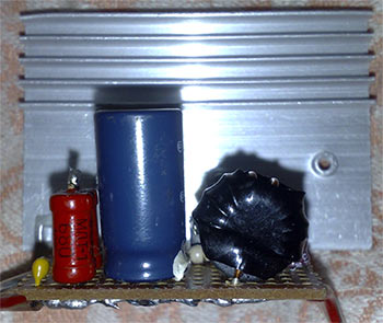 простая схема с 220 на 12 вольт - Практическая схемотехника.