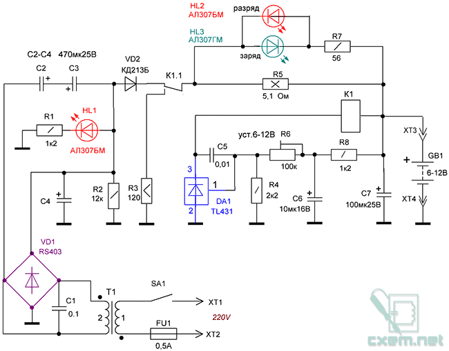 Форматирование электродов аккумуляторов