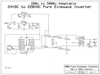 Схема инвертора чистой синусоиды фото 909