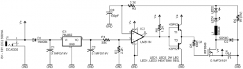 Схема LED-драйвера 3 Ватт