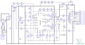 Схема универсального ЭПРА с теплым стартом на ICB1FL02G