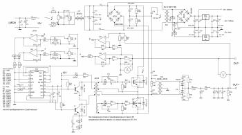 Схемотехника блоков питания ATX350WP4  Компьютеры