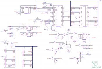 Эскиз принципиальной схемы цифровой части БП