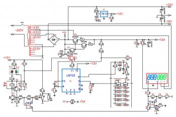 Схема доработанного ЛБПYG-1502DD