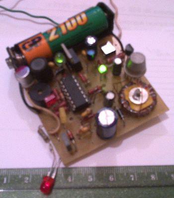Аварийный блок питания 5 вольт от 1.2 вольтового аккумулятора