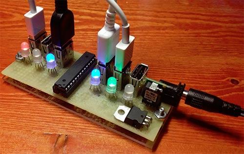 зарядное устройство на AVR