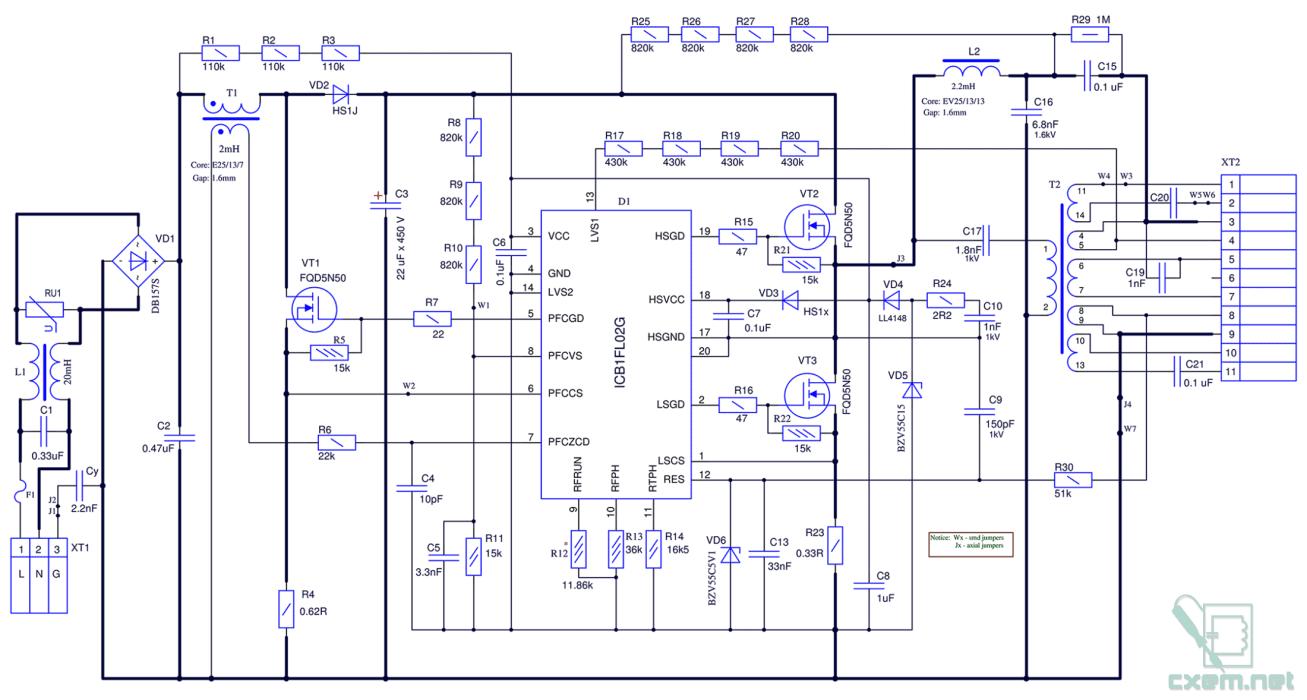 Схема подключения двух ламп дневного света фото 251