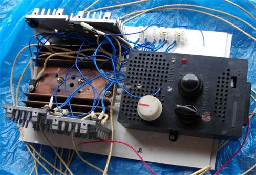Фотография рабочего макета регулятора мощности