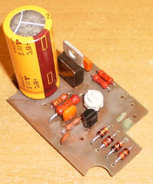 Печатная плата ЗУ со стабилизацией тока LDO стабилизаторе напряжения