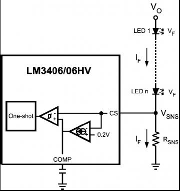 Компаратор для измерения тока нагрузки