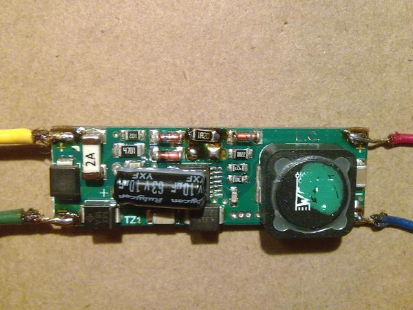 Демонтаж одного из резисторов