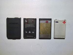 Аккумуляторы старых мобильных телефонов
