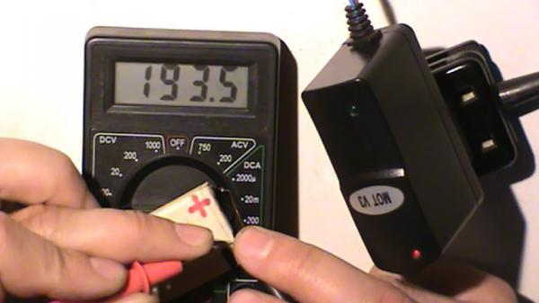 Снижение зарядного тока