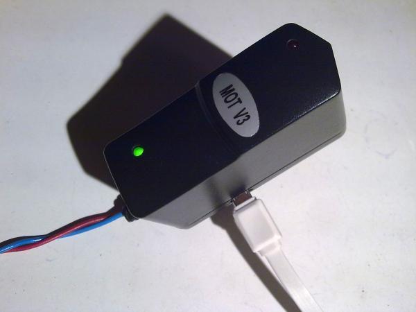 Питание зарядного устройства посредством USB