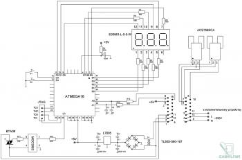 Схема устройства токовой защиты