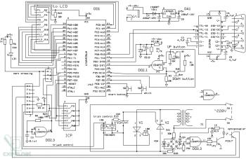 Схема сетевого коммутатора мощных нагрузок