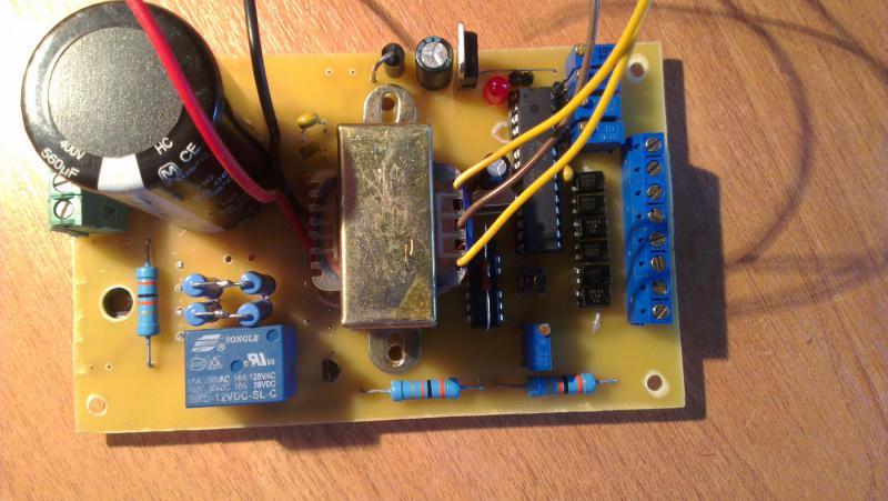 преобразователь частоты 50гц в 400гц схема