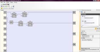 Программа для ПР 110 в среде OWEN Logic