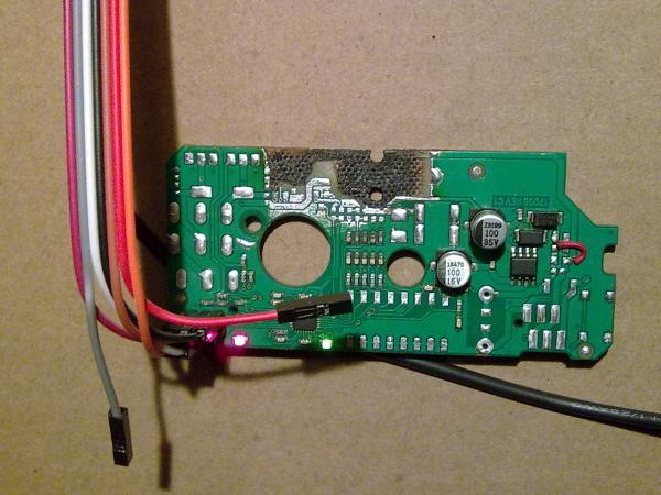 Тестовая проверка портов ввода-вывода микроконтроллера