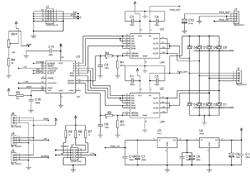 Схема драйвера шаговых двигателей
