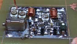 Радиомикрофоны 4 и более транзистора - Радио микрофон 433.9мГц 4транзистора