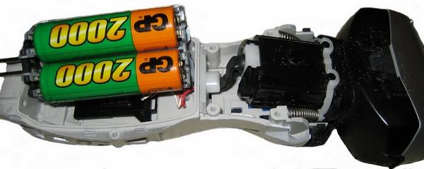 Замененные аккумуляторы