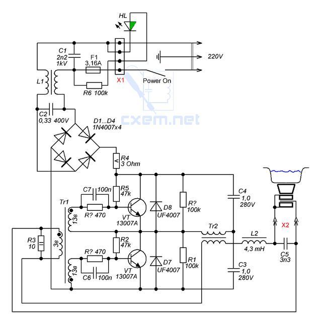 Схема переключения передач механической коробки передач