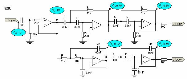 Отслеживание (трассировка) схемы кроссовера (Проект № 09)