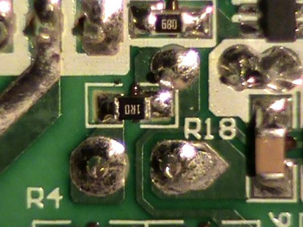 Сопротивление рабочего резистора