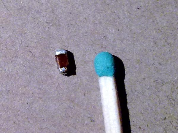 Пробитый конденсатор
