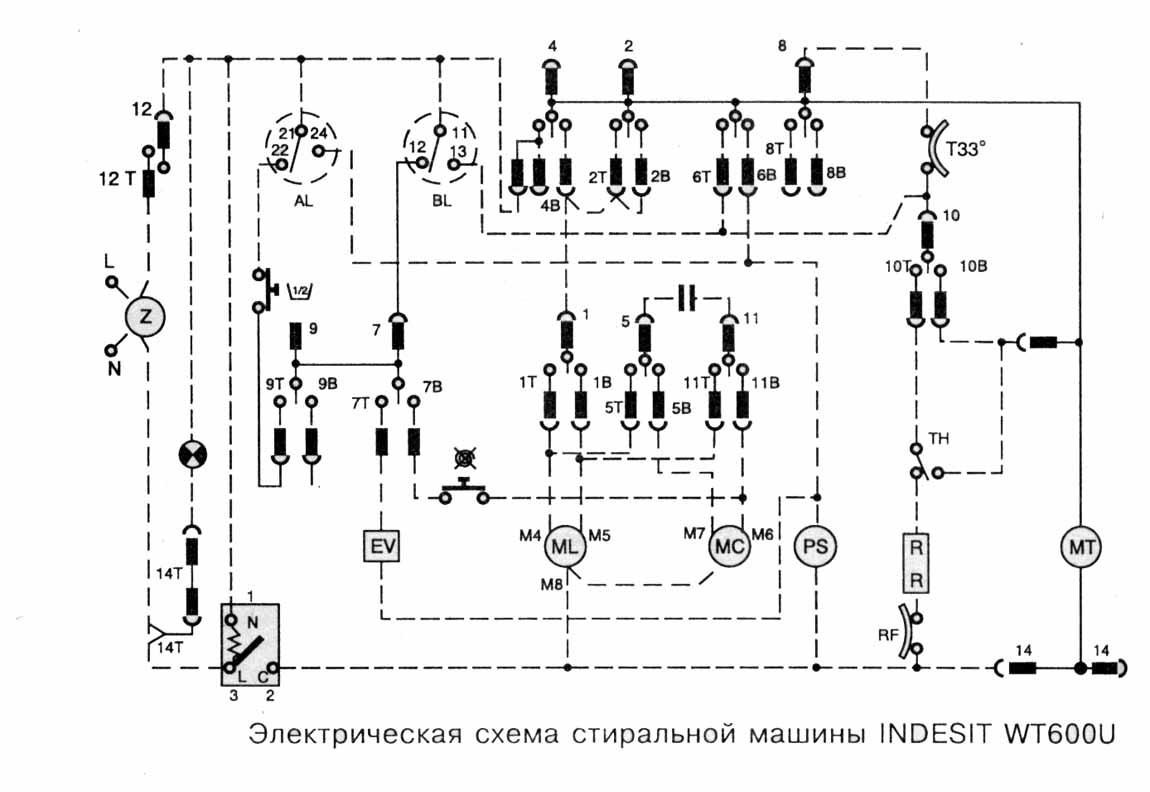 электрическая схема эпилятора
