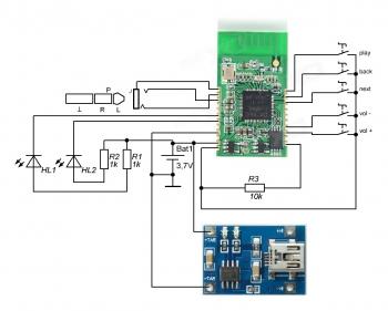 M575 XS3868 Wireless Bluetooth Module Board Stereo Audio