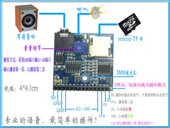 Подключение на китайском модуля YS-M3