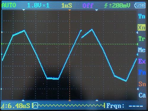Синусоида 150 кГц