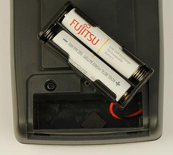 Батарейный отсек в VC97