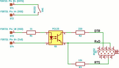 Порт RS232 для мультиметра MS8229
