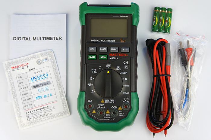 Комплектация MastechMS-8229