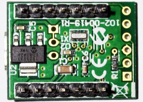 внешний вид MCP2210 Breakout Module