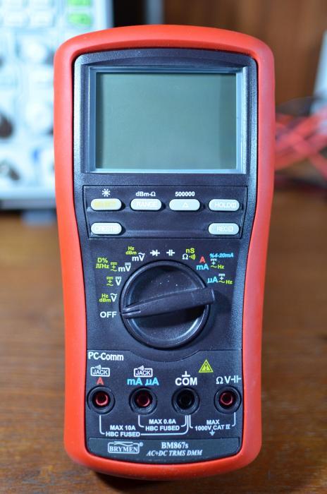 Профессиональный мультиметр Brymen BM-867s