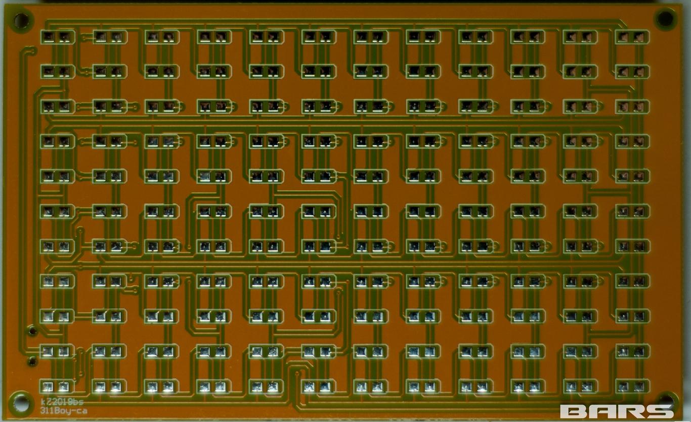 схема светодиодный анализатор спектра